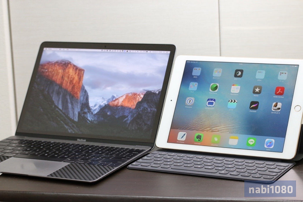 comparison-review-of-ipad-pro-9-7-inch-and-macbook-12-inch